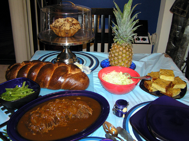 rosh hashanah 2007 meal.jpg